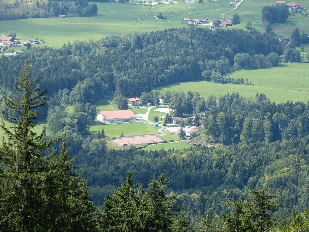 BLSV-Sportcamp in Inzell (fotografiert auf unserer Wanderung 2015)
